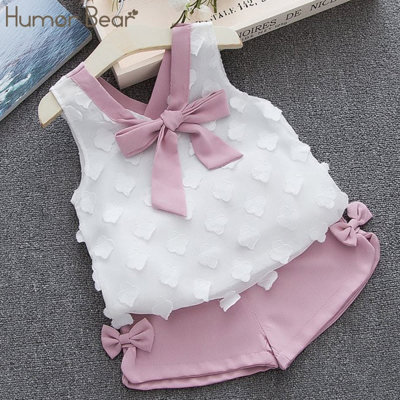 Baby Girl Clothes Hot Summer Children's
