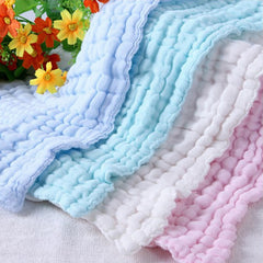 Cotton Gauze Solid Soft New Born Towel