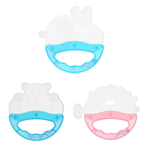 Cartoon Silicone Baby Teether