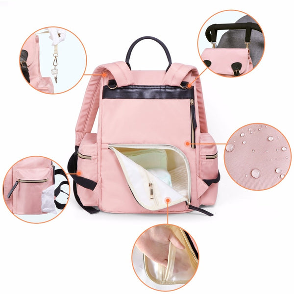 Waterproof Bag Fashion Nappy Bags
