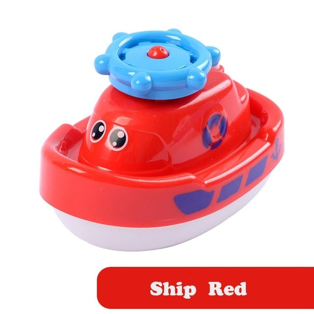 Kids Water Spray Toy Electric Rotate