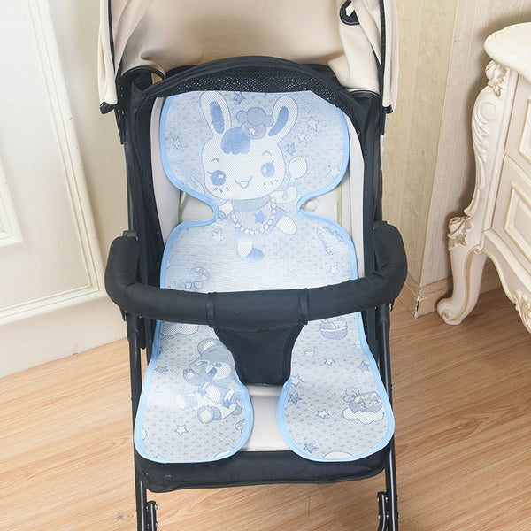 Baby Stroller Seat Cushiont Summer Flax