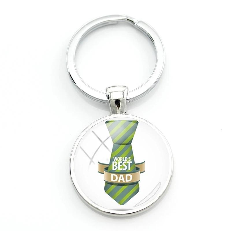 BEST DAD Keychain Creatived Keyring