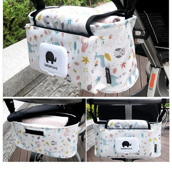 Cartoon Baby Stroller Storage Bag Waterproof