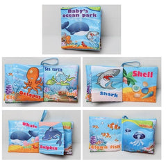 Baby Toys Soft Cloth Books Baby