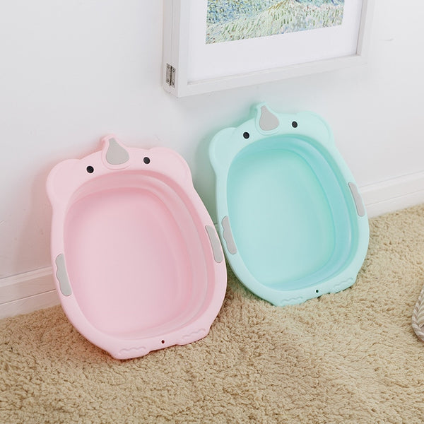 Cartoon Children's Folding Washbasin