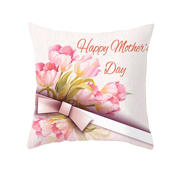 Roses Mother's Day Cushion Cover