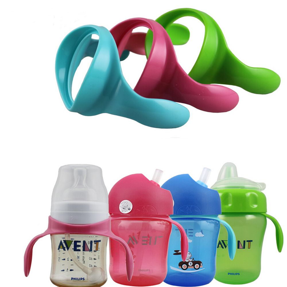 Feeding Bottle Grip Handles for Wide Mouth