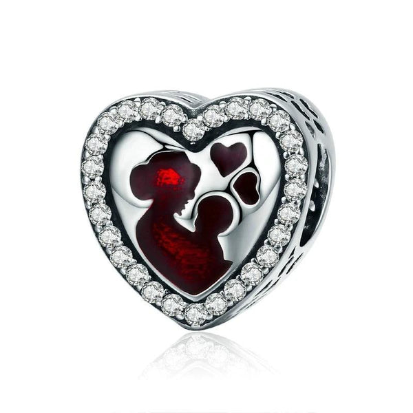 Sterling Silver Best Love For MOM Charm