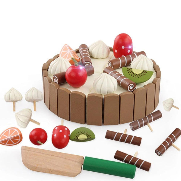 Wooden Baby Kitchen Toys Pretend Play