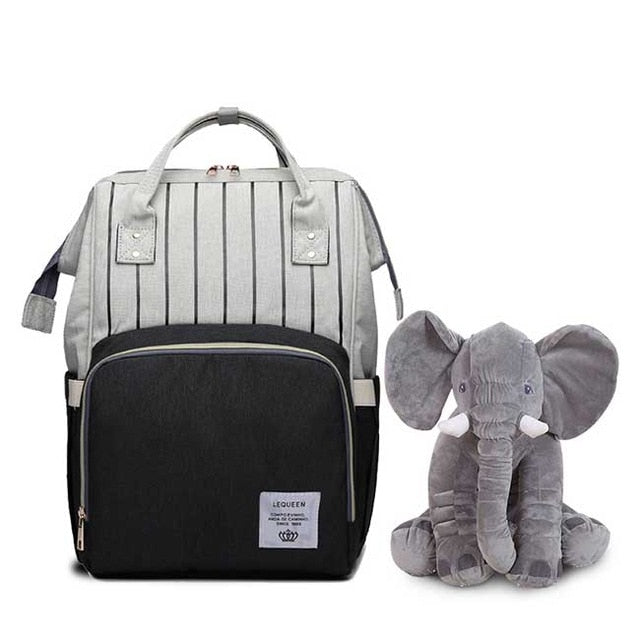 Mummy Maternity  Bag and elephant Large