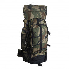 "Camouflage 30"" Hiking/Camping Water-Resistant Mountaineer's Backpack - Warehouse Marketplace"