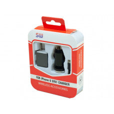 Black iPhone 3 in 1 Charger Kit
