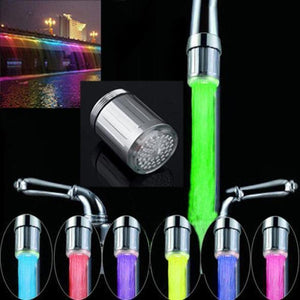 LED Water Faucet Temperature Sensing Light【Last Day Promotion】