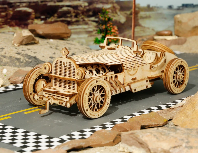 【50% Off Only Today】Wooden mechanical model puzzle(Buy 2 Free Shipping)