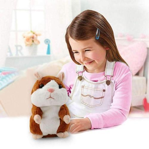 Talking hamster - repeat anything it hears【More than 4 million children's favorite gifts】