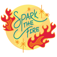 "Load image into Gallery viewer, Women's ""Spark the Fire"" Tee"
