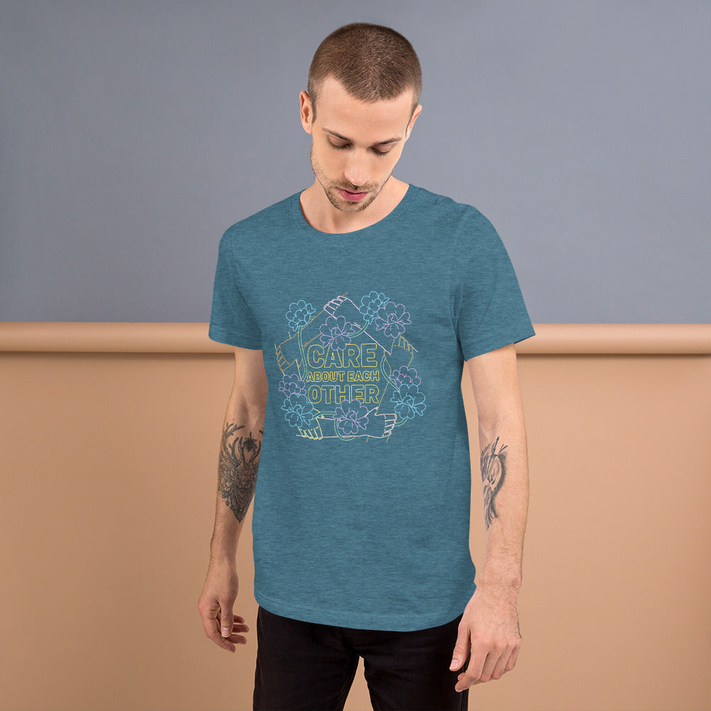 "Men's ""Care About Each Other"" Tee"