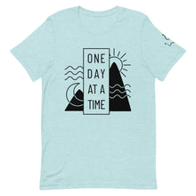 "Load image into Gallery viewer, Women's ""One Day At A Time"" Tee"