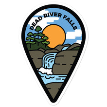 "Load image into Gallery viewer, ""Dead River Falls"" Travel Collection Sticker"