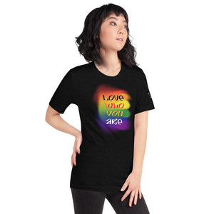 "Women's ""Love Who You Are"" Tee"