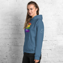 "Load image into Gallery viewer, Women's ""Love Who You Are"" Hoodie"