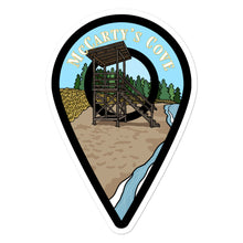 "Load image into Gallery viewer, ""McCarty's Cove"" Travel Collection Sticker"
