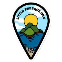 "Load image into Gallery viewer, ""Little Presque Isle"" Travel Collection Sticker"