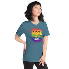 "Load image into Gallery viewer, Women's ""Love Who You Are"" Tee"