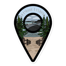 "Load image into Gallery viewer, ""Wetmore Landing"" Travel Collection Sticker"