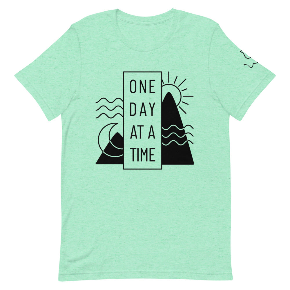 "Men's ""One Day At A Time"" Tee"