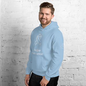 "Men's ""Tougher than cancer"" Hoodie"