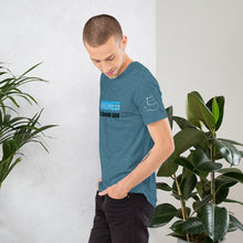 "Load image into Gallery viewer, Men's Blue ""Kindness"" Tee"