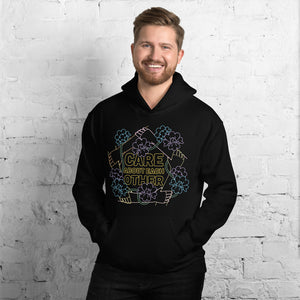 "Men's ""Care About Each Other"" Hoodie"