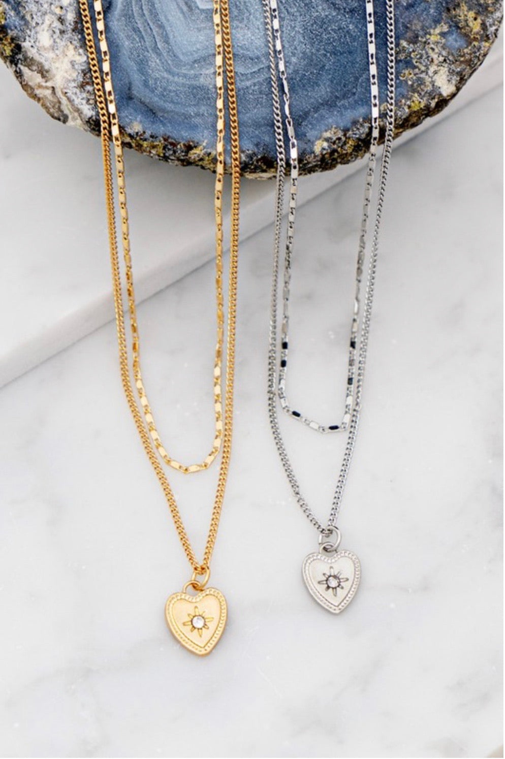 Heart in the Stars Necklace