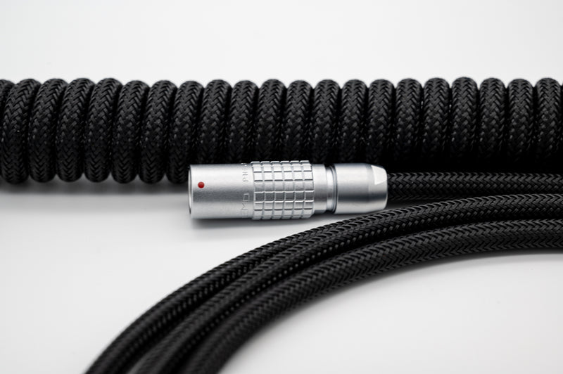 """Mono[chrome]"" Custom USB Cable - Black"