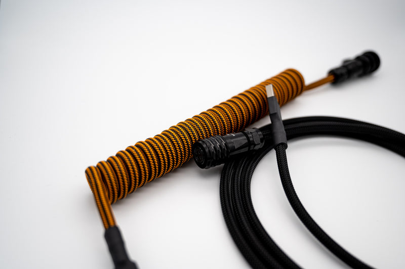 """Pumpkin Spice"" Custom USB Cable"