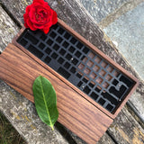 60% Wood Case incl. Wrist Rest
