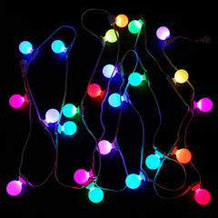 RGB light string, 24 count