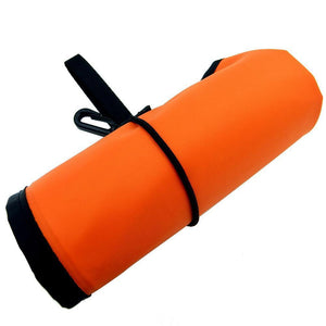 "Diving Safety Sausage Hi-Viz 6.5"" Wide Surface Marker Buoy (SMB) , Durable 400D Nylon 1.4 m / 55"""