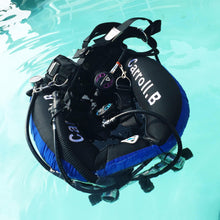 Load image into Gallery viewer, Tech Diving Twin Tank BCD, 50Lb Lift Double Bladder With S/S Backplate