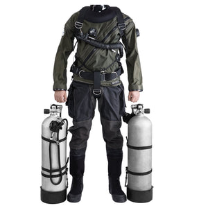 Scuba Diving Sidemount BCD 35 lbs Hummingbird 2, 6 Colours