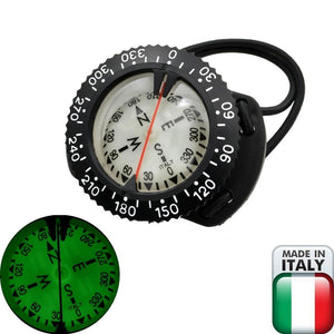 Dive Compass, Tech Diving Wrist Compass, Made In Italy