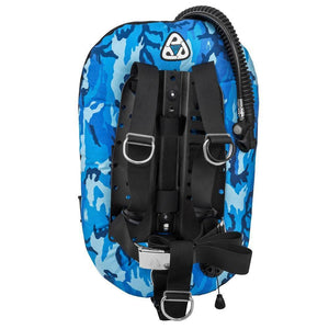 Scuba Diving BCD,30Lb Lift 1000D Cordura with Alu Backplate Simple Version (316 SS optional)