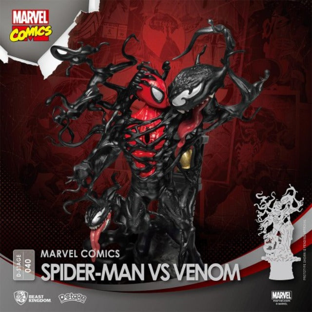 Beast Kingdom D-Stage 040 Diorama Stage Spider-Man vs Venom