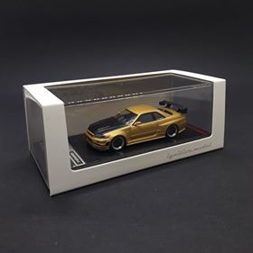 Ignition Model 1:64 Nismo R34 GT-R Z-tune Gold