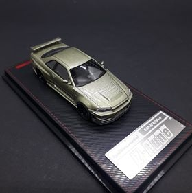 Ignition Model 1:64 Nismo R34 GT-R Z-tune Green Metallic