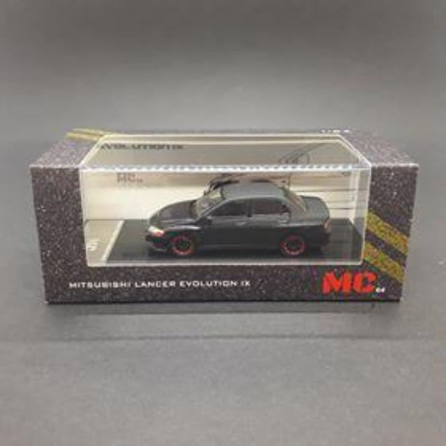 MC64 1:64 Mitsubishi Lancer Evolution lX (Matte Black)