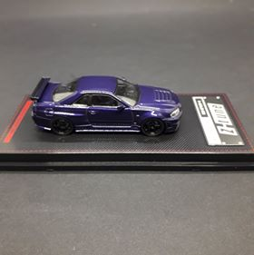 Ignition Model 1:64 Nismo R34 GT-R Z-tune Purple Mettalic