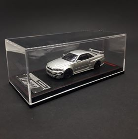 Ignition Model 1:64 Nismo R34 GT-R Z-tune Silver